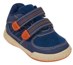 Tenis Sneaker Cklass Niños Sint Contactel Marino 31593 Dtt