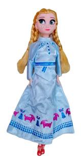 Muñecas Elsa Y Anna Frozen Sonido Canta Libre Soy Ingles