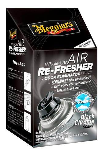 Car Air Refresher  Black Chrome  Meguiars G091-35-57-01