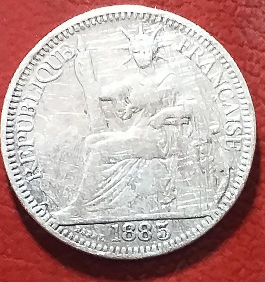 Moneda De Plata Asia (indochina Francesa)