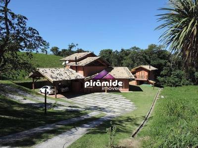 Casa Com 4 Dormitórios À Venda, 348 M² Por R$ 1.200.000 - Rio Preto - Santo Antônio Do Pinhal/sp - Ca4149