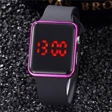 Relógio De Pulso Digital Led Feminino