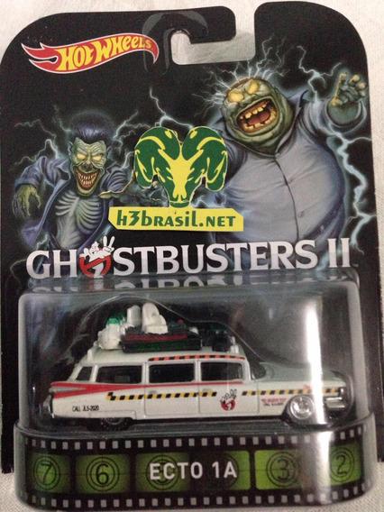 Bx430 Hot Wheels Retro Ecto-1a Caca Fantasma Ghostbuster 2