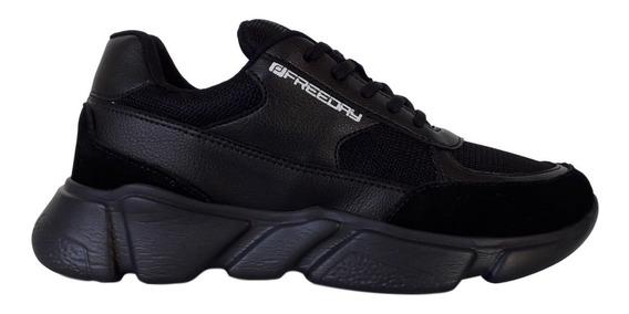 Tênis Sneaker Masculino Freeday Chunky Off Space Original
