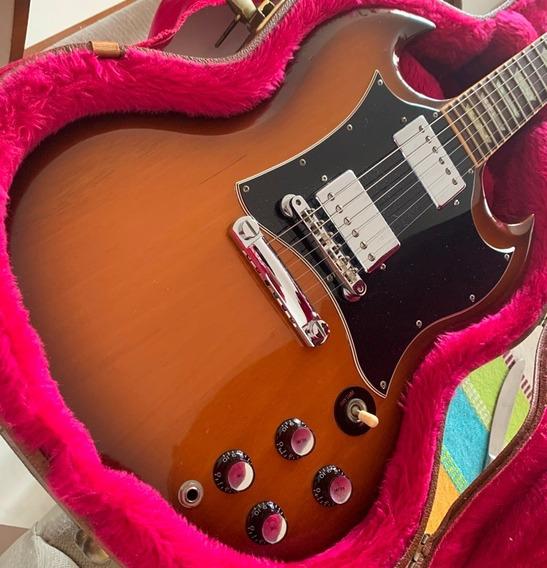 Guitarra Gibson Sg Standard 2001 Desert Burst