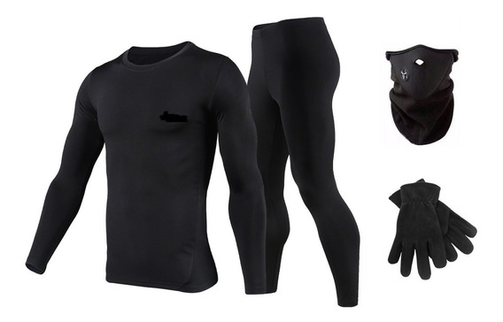 Equipo Termico Moto Remera+calza+mascara Neo+ Guantes Regalo