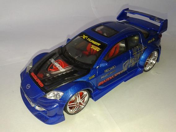 Miniatura Mazda Rx8 Escala 1:24 Xtuner Kentoys. Oportunidade