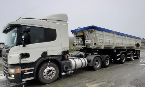 Scania P360/2016 Y Batea Randon 1+1+1/2019 Escalado 55.5 Ton