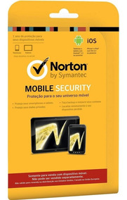 Norton Mobile Security 3.0 Cartao (anti-virus) iPhone Tablet