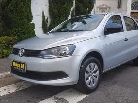 Volkswagen Voyage 1.6 Msi Trendline Total Flex 4p 2015 Prata