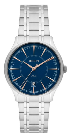 Relógio Orient Feminino Fbss1132 D1sx Aço Azul Oferta