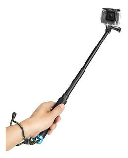 Bastao Extensor Pau De Selfie Fibra Carbono Gopro Sjcam Eken