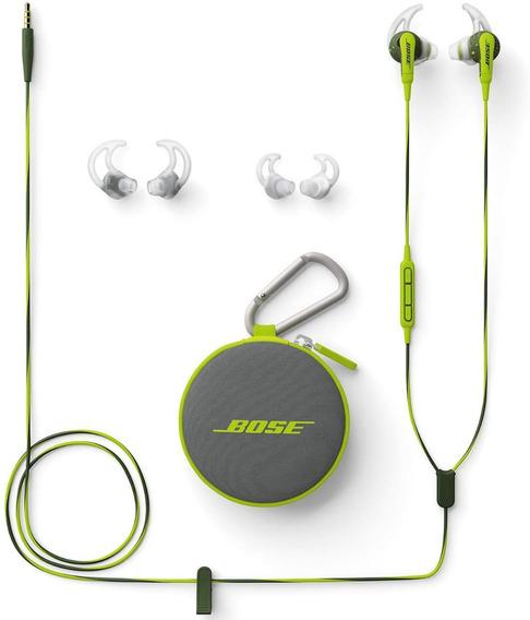 Fone Ouvido iPhone Bose Soundsport Wired Headphones iPad