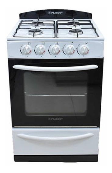 Cocina Multigas Peabody Lc56 Blanca 56cm Tio Musa