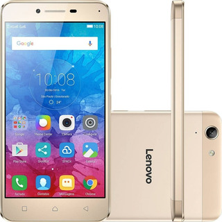 Smartphone Lenovo Vibe K5 16gb Dual Chip 4g Dourado- Vitrine