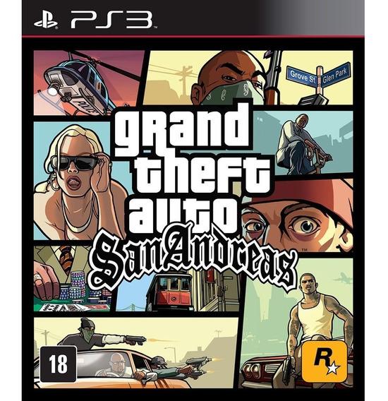 Gta San Andreas Hd - Jogos Ps3 Playstation 3