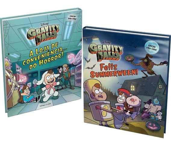 Livro Gravity Falls Feliz Summerween E Loja De Conveniência
