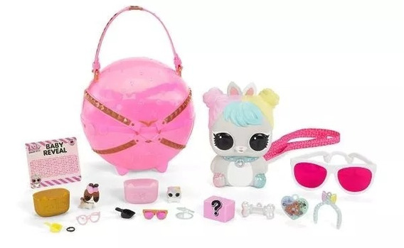 Boneca Lol Surprise Biggie Pets Hop Hop 15 Surpresas Lacrado