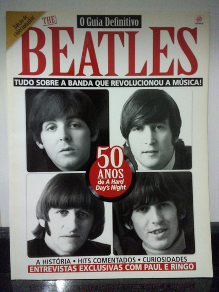 Revista De Colecionador The Beatles Guia Definitivo Rjhm
