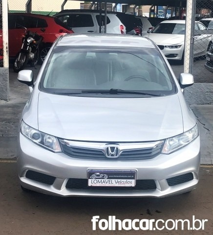 Civic New Lxs 1.8 16v I-vtec (aut) (flex)