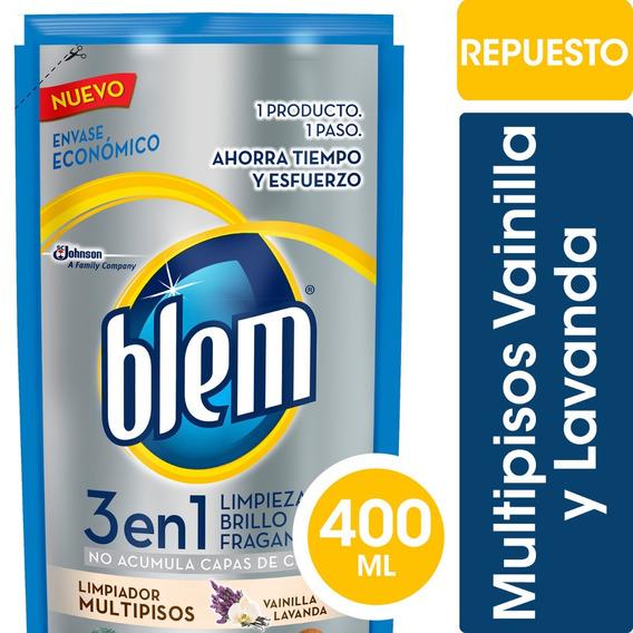Blem 3en1 Vainilla & Lavanda X 400ml - 6 Unidades