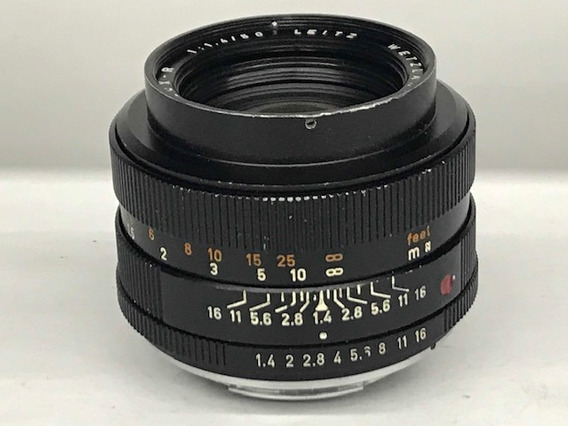 Lente Leica Leitz Wetzlar Summilux-r 50 Mm 1:1.4 .