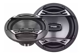 Subwoofer Crown Mustang 10´´ 1000wpmpo 500w Rms Otb 10