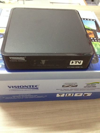 Conversor Digital Terrestre Vt7500 Visiontec