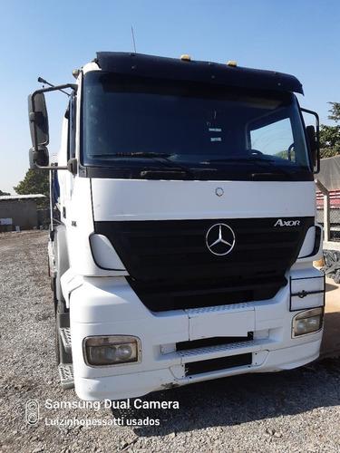 Imagem 1 de 12 de Caminhão Mb 2540 6x2 Revisado Bom De Pneus Ano 2006