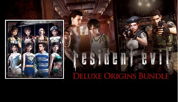 Resident Evil Deluxe Origins Bundle / Biohazard Deluxe Steam