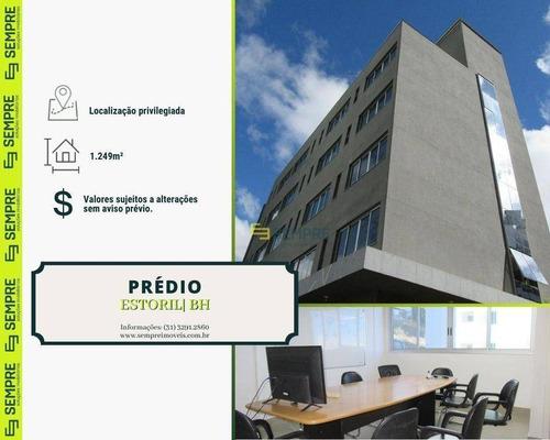 Imagem 1 de 27 de Prédio Para Alugar, 1.249 M² E 102 Vagas - Estoril - Belo Horizonte/mg - Pr0009