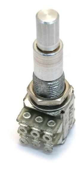 Potênciometro Concentrico Alpha Duplo Center Click B100k