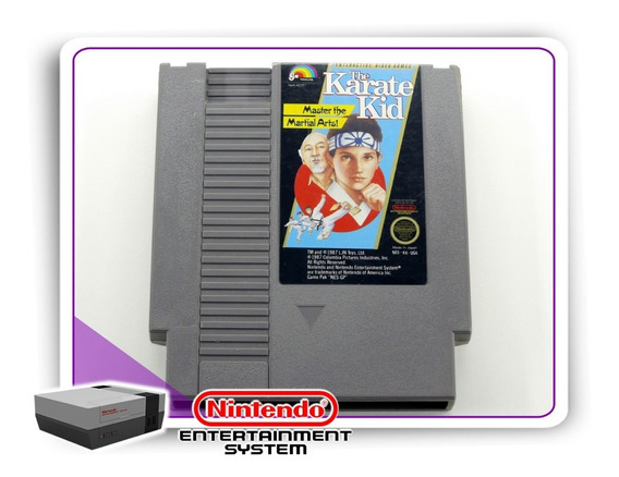 The Karate Kid Original Nintendinho Nes 8-bits