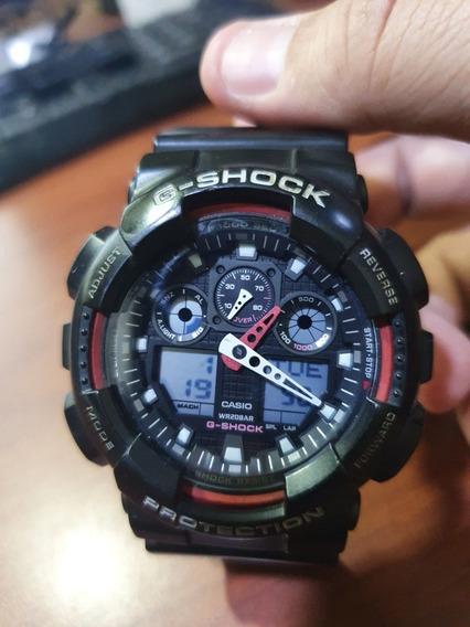 Casio G-shock Ga 100c 4adr Muitonovo! Original Frete Grátis