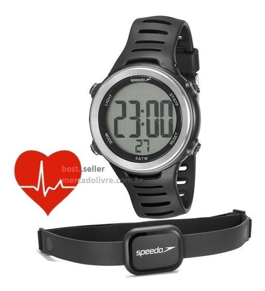 Relógio Monitor Cardíaco Speedo 66001g0emnp1 Frequência