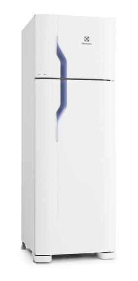 Geladeira Electrolux DC35 branca com freezer 260L 110V