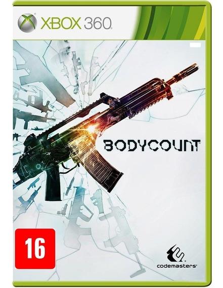 Bodycount Xbox 360 Jogo Novo Original Lacrado Mídia Física