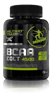 Bcaa Military Trail Colt 4500 120 Cáps - Midway Original