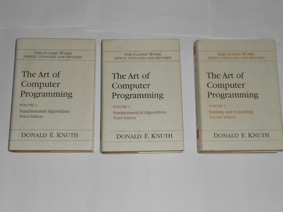 The Art Of Computer Programming - 1-2 E 3 - Donald E. Knuth