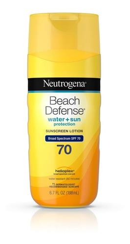 Neutrogena Beach Defense Creme Protetor Solar Fps 70 - 198ml