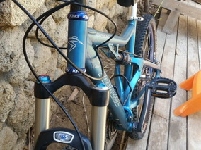 Bicicleta Santa Cruz Superlight