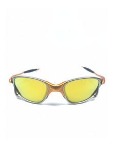Oculos Double Xx 24k Dourada +teste+lente+chave Brinde