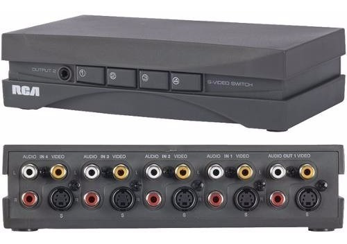 Selector De Fuente De Video Y Audio, Marca Rca Vh911r