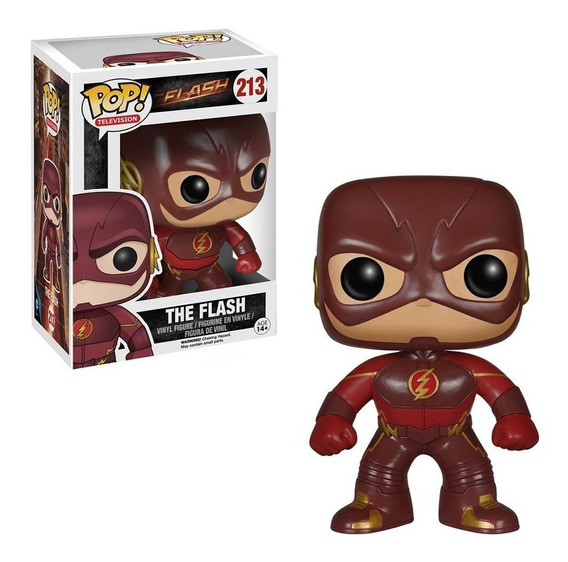 Funko Pop! The Flash Series 213 - Giro Didáctico