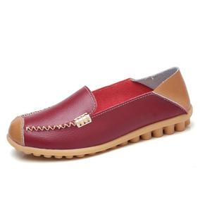 3d4275f7c0 Zapatos Planos De Las Mujeres Zapatos Cómodos Y Transpirabl