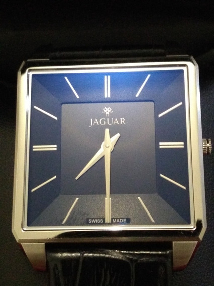 Relógio Jaguar Original J040aslo1 Swiss ,slim,safira,lindo