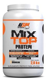 Black Friday Suplementos Whey Protein Mix Proteico 2kg Aisim
