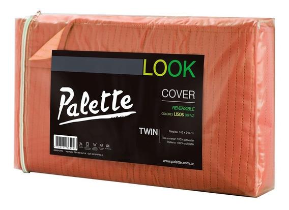 Cubrecama Colcha Palette Queen Size Cover 235x240 Verano