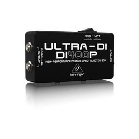 Direct Box Passivo Di400p Ultra Di400 - Behringer +nf