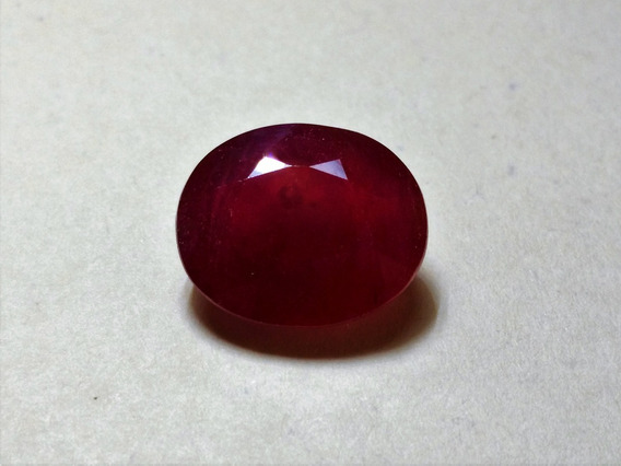 Rubi Natural Lapidado 8,38cts, 13x11